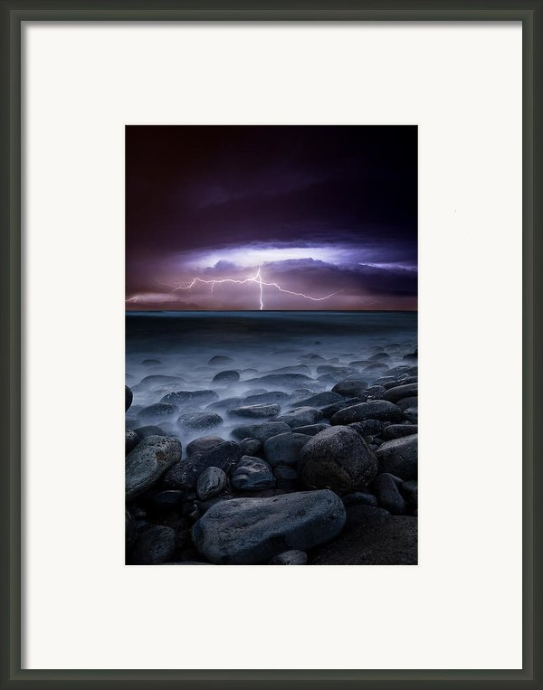 Raw Power Framed Print By Jorge Maia