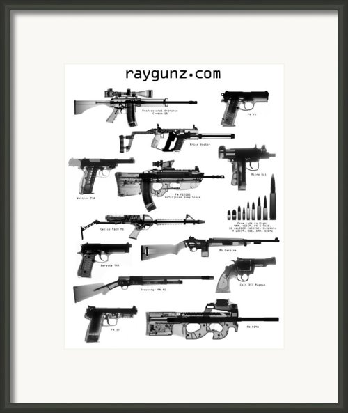 Raygunz Poster Framed Print By Ray Gunz
