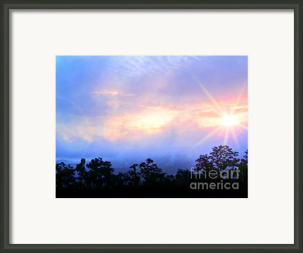 Rays Of Hope Framed Print By Dan Stone