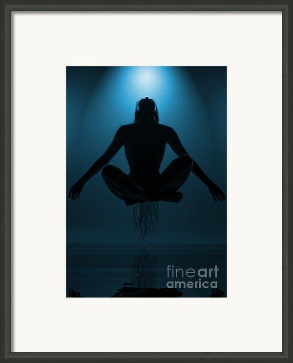 Reaching Nirvana.. Framed Print By Nina Stavlund