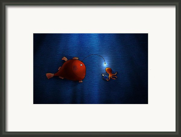 Reading Buddies Framed Print By Sanely Great