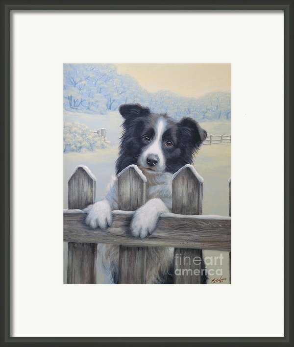 Ready For Work Framed Print By John Silver