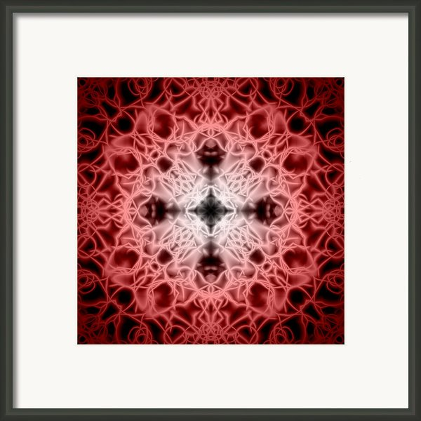 Red Framed Print By Adam Romanowicz