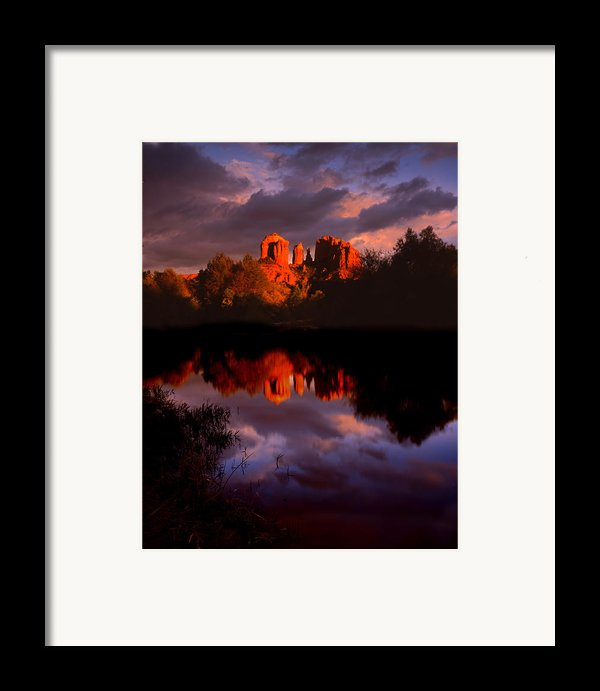 Red Rock Crossing Sedona Framed Print By Ray Mathis