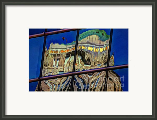 Reflection 12 Framed Print By Jim Wright