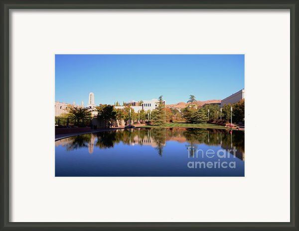 Reflection Pond Framed Print By Kathleen Struckle