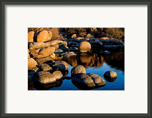 Reflections Framed Print By Jag Fergus