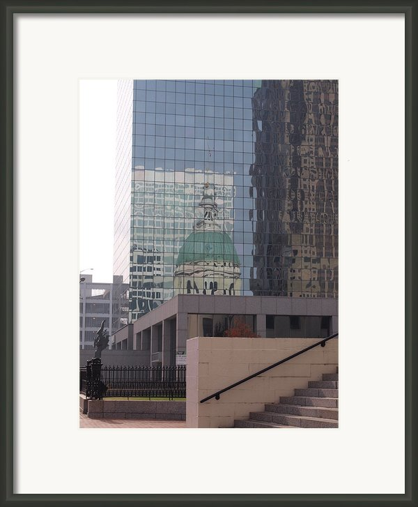 Reflections On The Past Framed Print By Joshua House