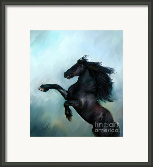 Regaining Strength Framed Print By Tamer Elsharouni