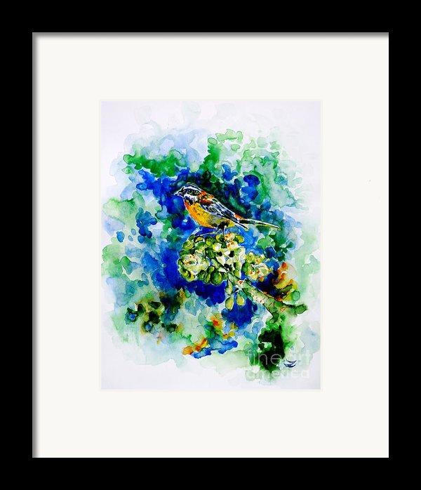 Reina Mora Framed Print By Zaira Dzhaubaeva