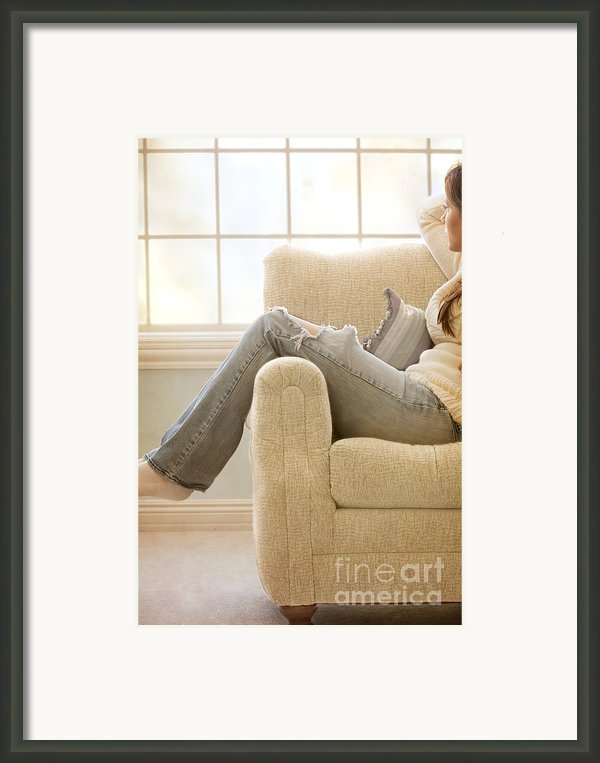 Relaxed Framed Print By Margie Hurwich