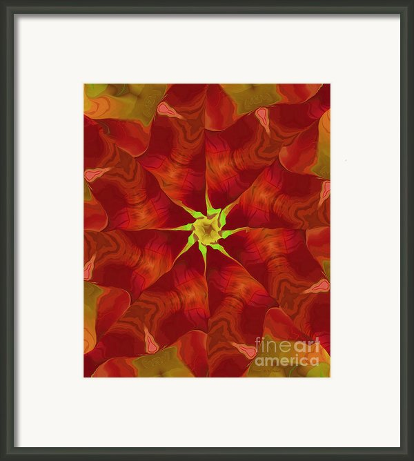 Release Of The Heart Framed Print By Deborah Benoit