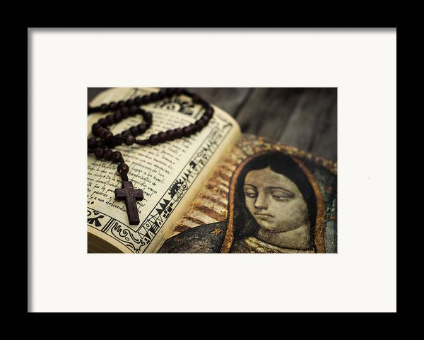 Religious Concept Framed Print By Aged Pixel