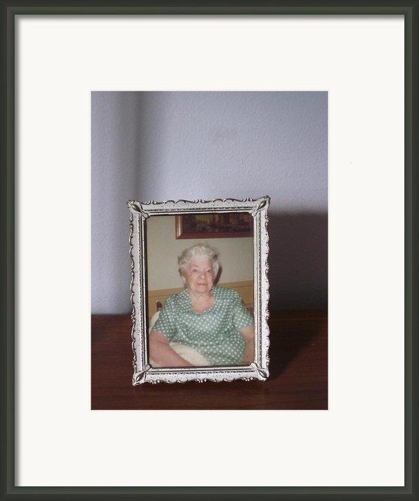 Remembering Grandma Framed Print By Guy Ricketts