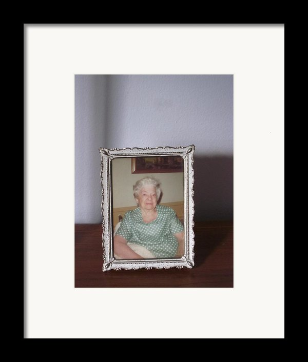 Remembering Grandma Framed Print By Guy Ricketts