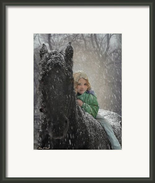Remme And Rory Framed Print By Fran J Scott