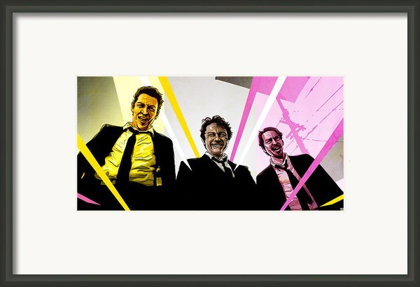 Reservoir Dogs Framed Print By Jeremy Scott