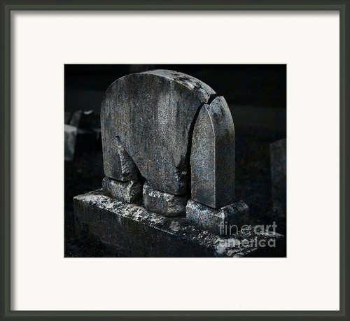 Rest In Pieces Framed Print By John Stephens