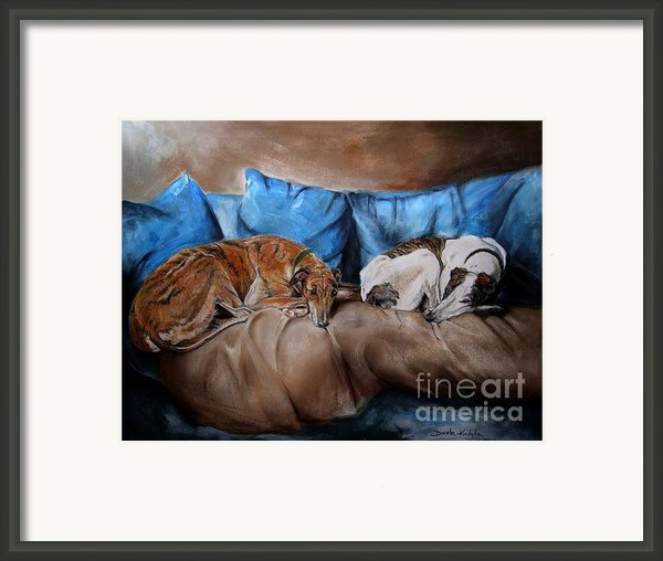 Resting Time Framed Print By Dorota Kudyba