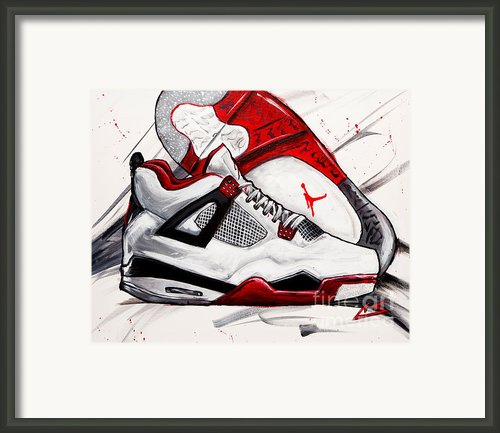 Retro Iv Framed Print By Charles Styles