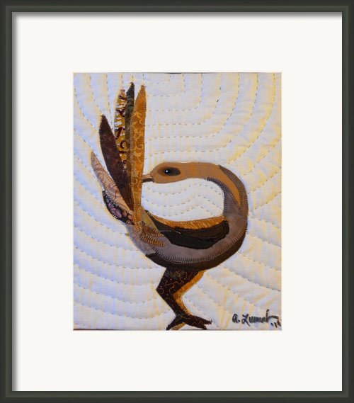 Return Framed Print By Aisha Lumumba