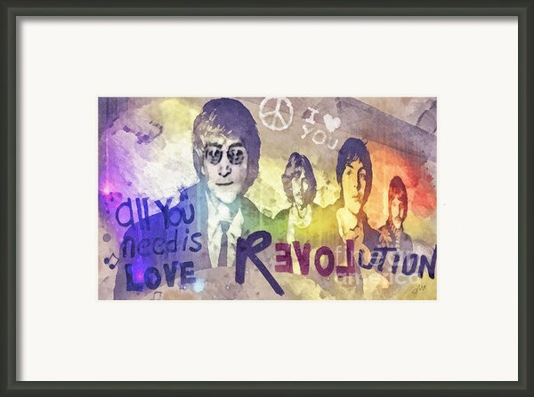 Revolution Framed Print By Mo T