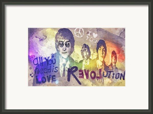 Revolution Framed Print By Mo T