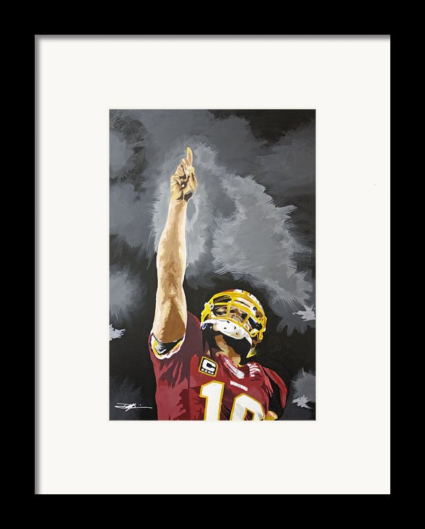 Rg Iii Framed Print By Don Medina