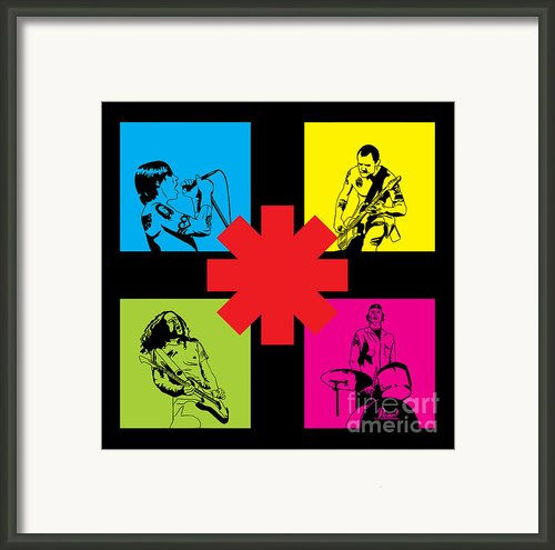 Rhcp No.01 Framed Print By Caio Caldas