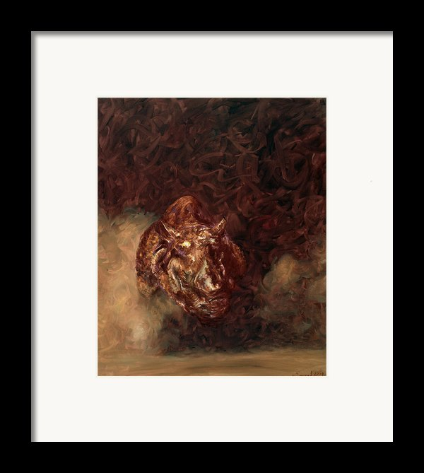 Rhino Charger Heaven Framed Print By Sarah Soward