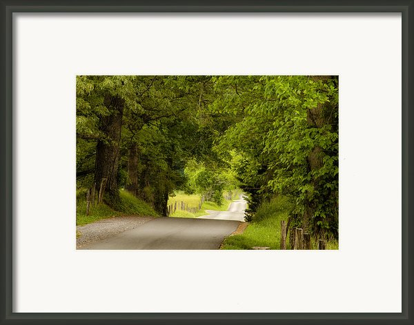 Ribbon Road Framed Print By Andrew Soundarajan