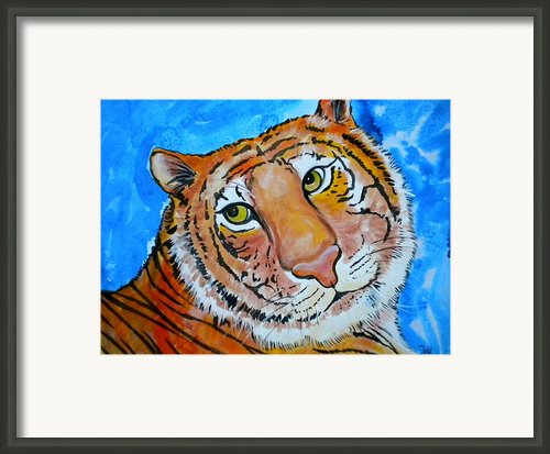 Richard Parker Framed Print By Debi Pople