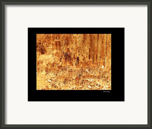 Ripped 3 Framed Print By Xoanxo Cespon