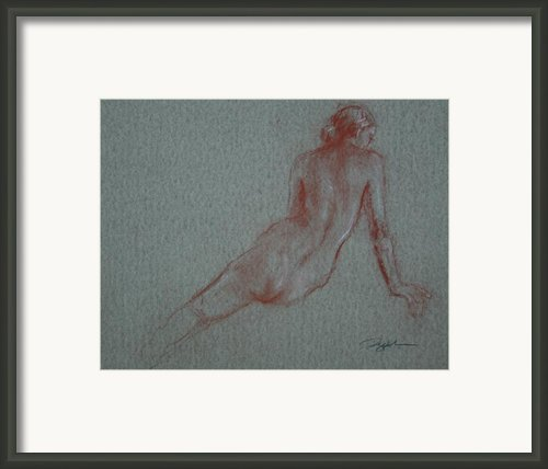 Rising Framed Print By Peggi Habets