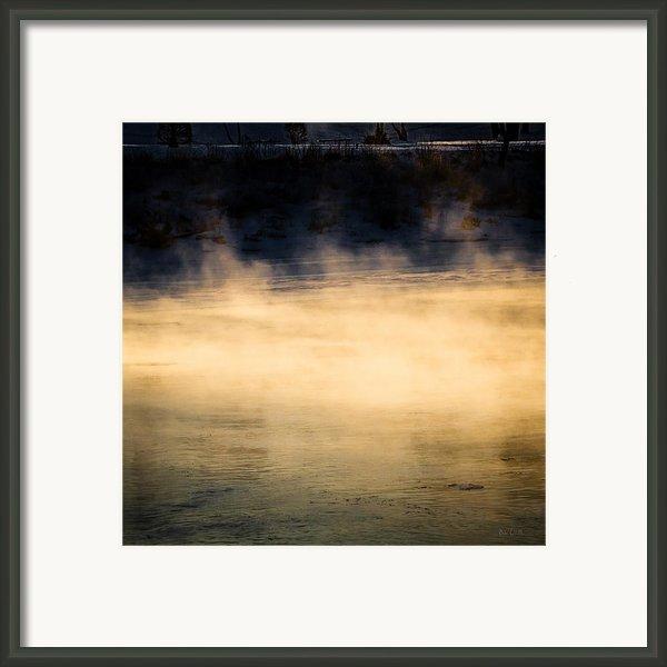 River Smoke Framed Print By Bob Orsillo