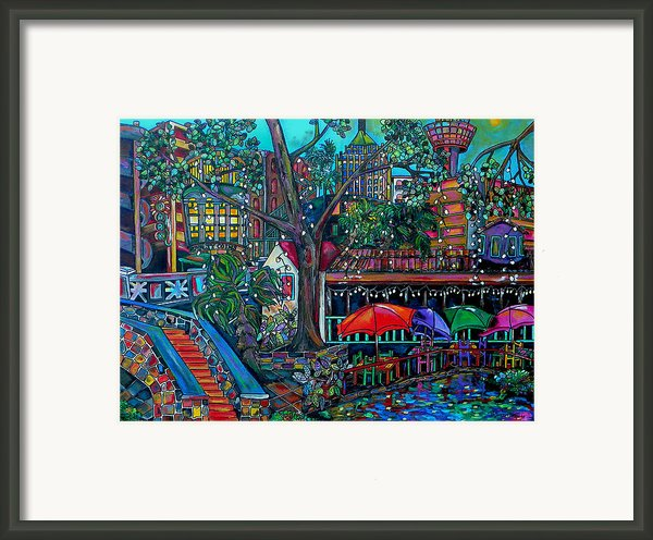 Riverwalk Framed Print By Patti Schermerhorn