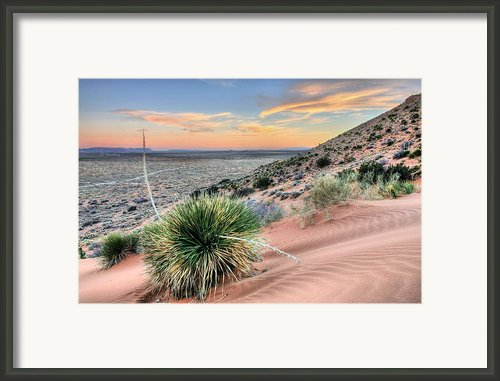Road To Mexico Framed Print By Jc Findley