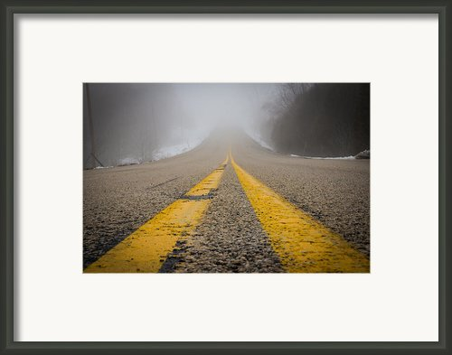Road To Nowhere Framed Print By Bill Pevlor