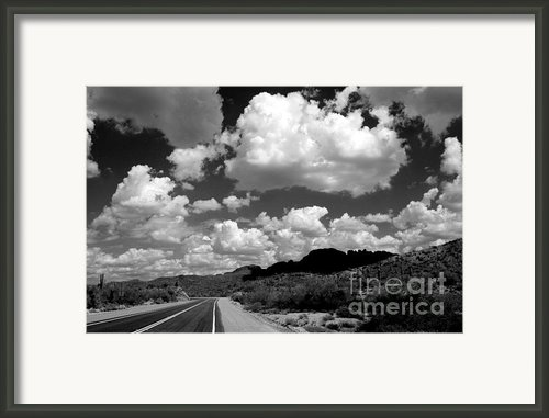 Roads To Wickenberg Framed Print By Exposing Gypsy
