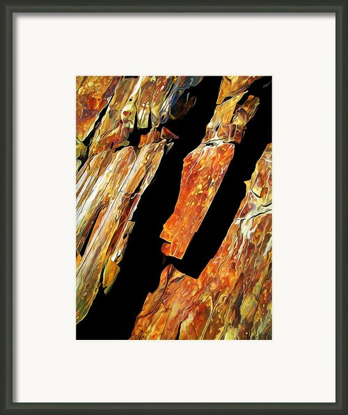 Rock Art 21 Framed Print By Abeautifulsky  Photography