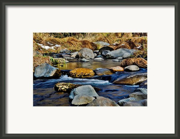 Rock On Framed Print By Jag Fergus