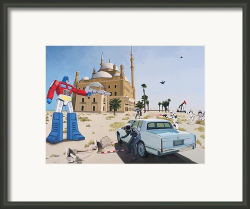 Rock The Casbah Framed Print By Scott Listfield