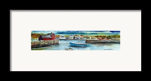 Rockport Harbor Framed Print By Scott Nelson