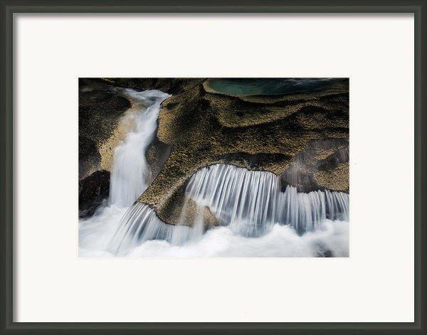Rocks In Paradise Framed Print By Inge Johnsson