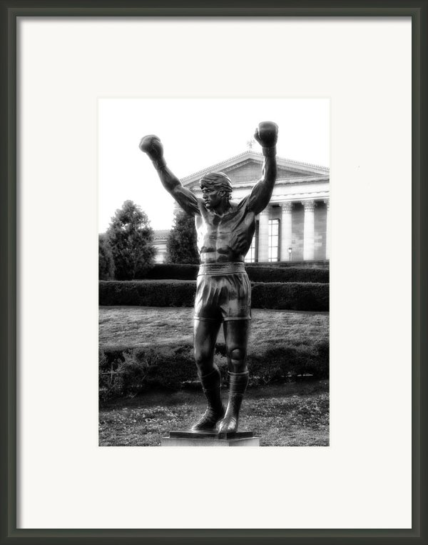 Rocky Balboa Framed Print By Bill Cannon