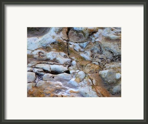 Rocky Framed Print By Heather Allen