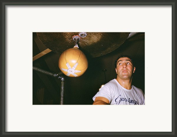 Rocky Marciano  Framed Print By Retro Images Archive