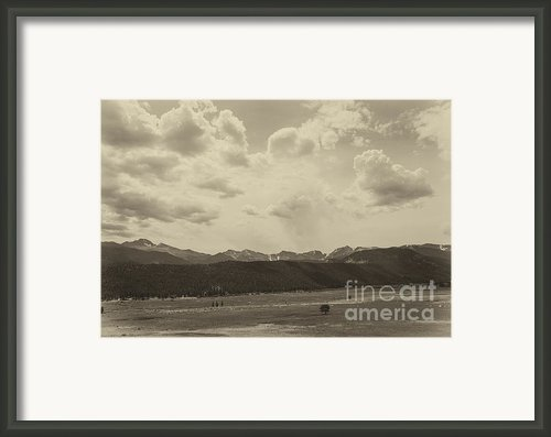 Rocky Mountains Front Range Framed Print By Kay Pickens