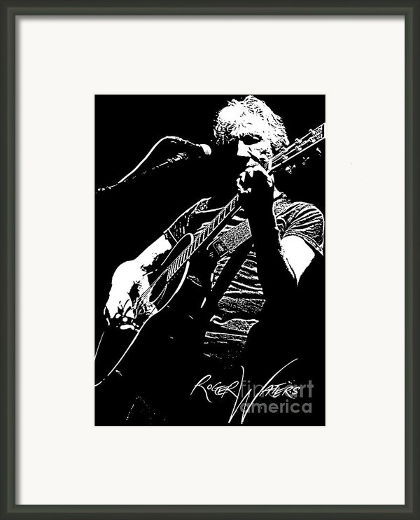 Roger Waters No.01 Framed Print By Caio Caldas