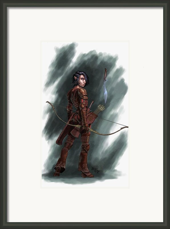 Rogue Framed Print By Bryan Syme